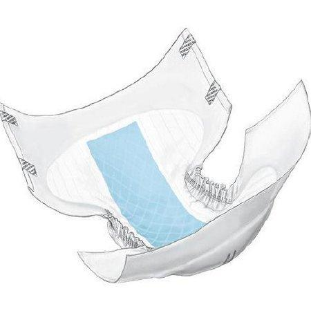 Adult Incontinent Brief Wings Choice Plus Tab Closure Large Disposable Heavy Absorbency 60034DP BG/18