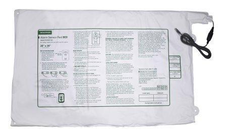 Alarm Sensor Pad McKesson Brand 20 X 30 Inch (51 cm x 76 cm) 162-1128 Case/20