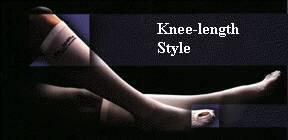 Anti-embolism Stockings Lifespan Knee-high X-Large, Regular White Inspection Toe 553-04 Pair/1
