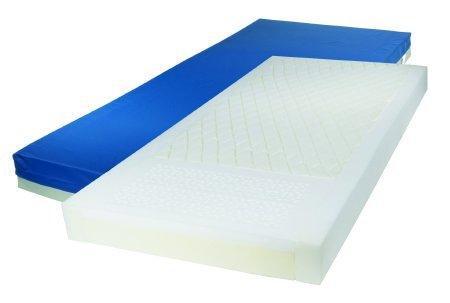 Bed Mattress Gravity 7 with Raised Side Rails Pressure Redistribution 36 X 84 X 6 Inch 15785 Case/1