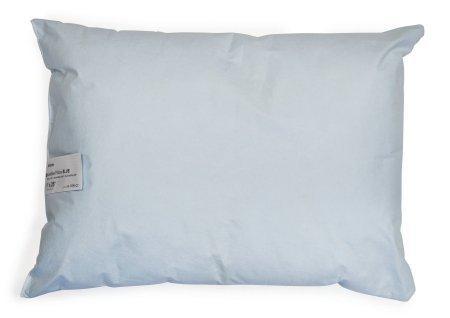 Bed Pillow McKesson 19 X 25 Inch Blue Reusable 41-1925-CC Each/1