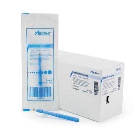 Biopsy Punch McKesson Argent Dermal 4 mm 1313 Each/1