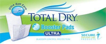 Bladder Control Pad TotalDry 13 Inch Length Heavy Absorbency SecureLoc Unisex Disposable SP1900 BG/20