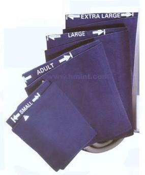Blood Pressure Cuff Omron Intelli Sense Adult Arm X-Large Fabric HEM-907-CX19 Each/1