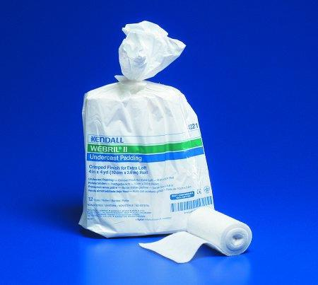 Cast Padding Undercast Webril II 3 Inch X 4 Yard Cotton NonSterile 4152 Box/12