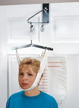 Cervical Traction Kit, Overdoor Grafco Deluxe Chrome-plated Steel One Size Fits Most GF1871 Each/1
