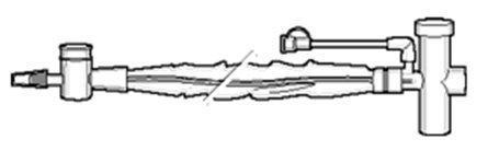 Closed Suction Catheter Trach Care 72 14 Fr. Tracheostomy 2270135 Case/20