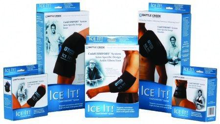 Cold Therapy System Ice It! ColdCOMFORT Wrist 4-1/2 X 8 Inch Stay-Put Fabric Reusable 570 Each/1