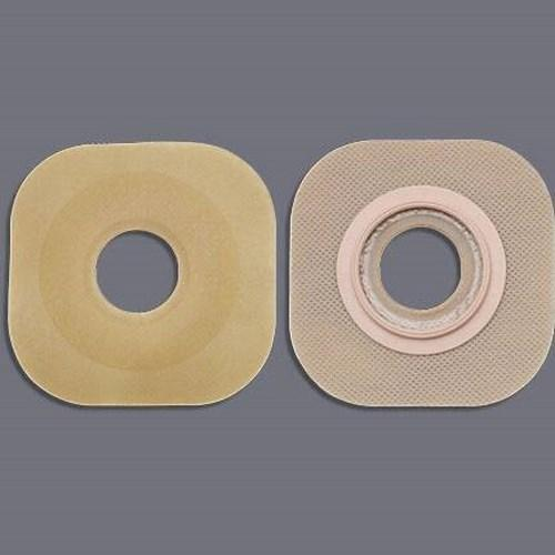 Colostomy Barrier FlexWearª Pre-Cut, Standard Wear Without Tape 1-3/4 Inch Flange Green Code Hydrocolloid 1 Inch Stoma 16404 Box/5