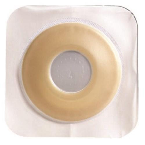 Colostomy Barrier Sur-Fit Natura¨ Pre-Cut, Extended Wear Durahesive¨, White Tape 2-1/4 Inch Flange Hydrocolloid 2 Inch Stoma 413188 Box/10