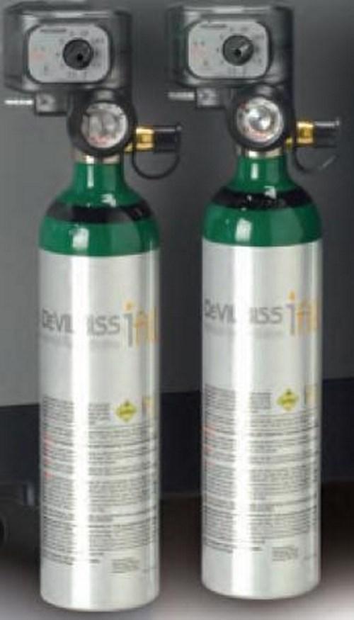 DeVilbiss iFill¨ Oxygen Cylinder Size M6 Aluminum 525D-M6-870 Each/1