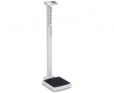 Digital Scale solo Digital 550 lbs. White / Black 6 AA Batteries SOLO Each/1