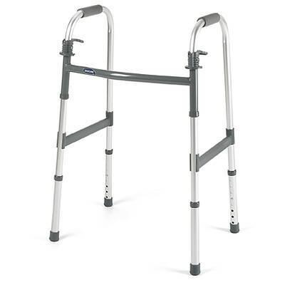 Dual Release Folding Walker Junior I-Class Aluminum 300 lbs. 25.4 to 32.4 Inch 6291-JR Case/4