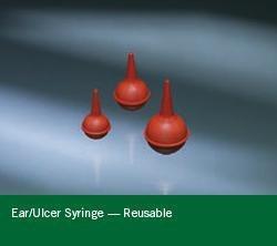 Ear / Ulcer Bulb Syringe 3 oz. Reusable Sterile Kraton 0005290 Each/1