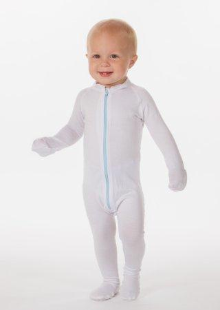 Eczema Treatment Bodysuit Wrap-E-Soothe Suit 9 to 12 Months White Reusable 22112-9 Each/1
