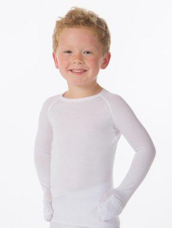 Eczema Treatment Shirt Wrap-E-Soothe Top 5T White Long Sleeve Pediatric 82312-5T Each/1