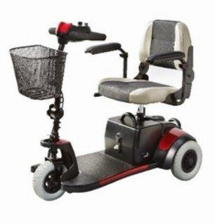 Electric Scooter Mini-Coupe 3 Wheel Red S539 Each/1