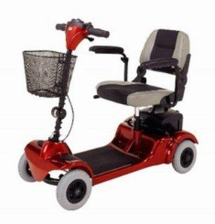 Electric Scooter Mini-Coupe 4 Wheel Red / Blue S549 Each/1
