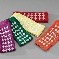Fall Management Slipper Socks Standard Green 6239G Pair/2