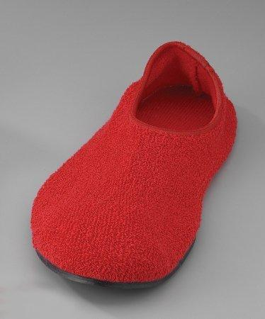 Fall Management Slippers Adult Medium Red Below the Ankle 6243M Pair/2