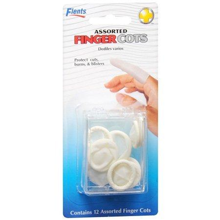 Finger Cot Flents Assorted Sizes Powder Free Rubber Nonsterile 69626 Pack/6