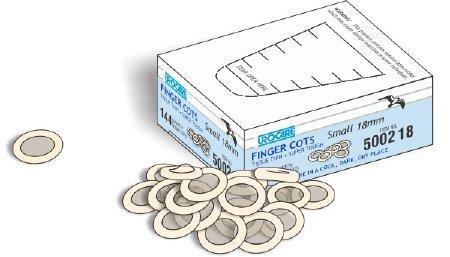 Finger Cot Urocare Small 3/4 Inch Powder Free Latex Nonsterile 500218 Box/144
