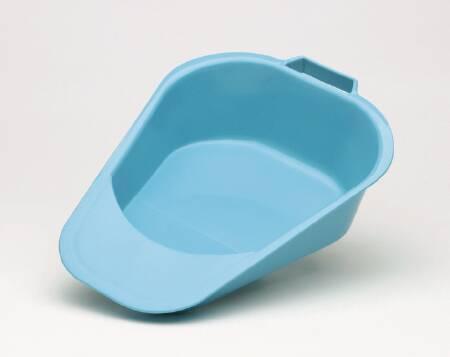 Fracture Bedpan Medegen Blue 1 Quart 00081 Case/6