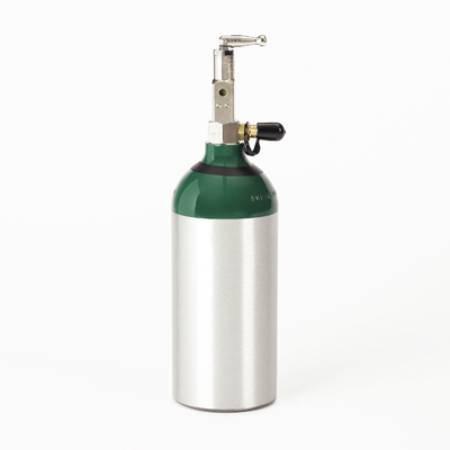 HomeFill Oxygen Cylinder M9, 255 lt, 4.38 Diameter X 15 H Inch HF2POST9 Each/1