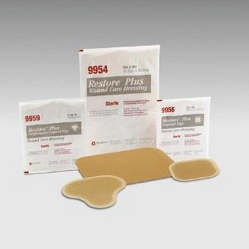 Hydrocolloid Dressing Restoreª 4 X 4 Inch Square Sterile 519953 Box/5