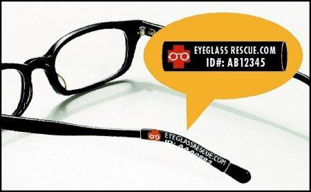 Identification and Protection Eyeglass Sleeves 1001 Pack/50