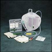 Indwelling Catheter Tray Bardex I.C. PLUS Foley 18 Fr. 5 cc Balloon Hydrogel Coated Latex 903018A Each/1