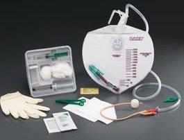 Indwelling Catheter Tray Lubri-Sil I.C. Foley 16 Fr. 5 cc Balloon Silicone 900116A Each/1