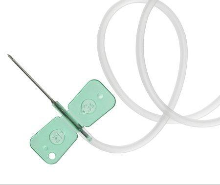 Infusion Set UNOLOK 21 Gauge 3/4 Inch 12 Inch Tubing Without Port 7001-21 Box/100