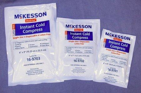 Instant Cold Pack Medi-Pak General Purpose 6 X 9 Inch Disposable 16-9703 Case/24