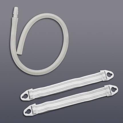 Leg Strap Hollister Small, 15 Inch, Vinyl, Reusable, Plastic Belt Tabs 9342 Pair/1