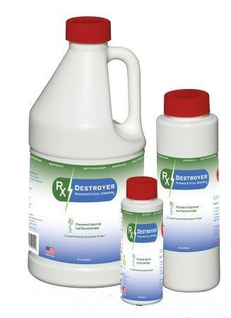 Liquids Pharmaceutical Disposal System RxDestroyer 64 oz. Bottle, Hardener Pack RX64LIQ Case/4