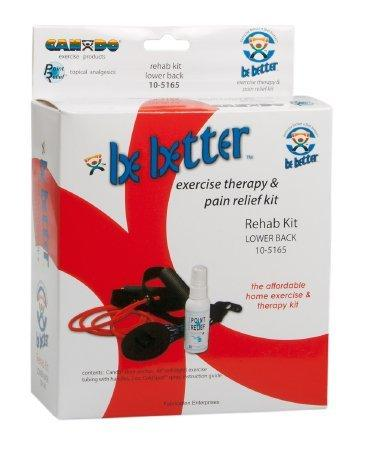 Lower Back Rehab Kit Point-Relief Be-Better 105165 Each/1
