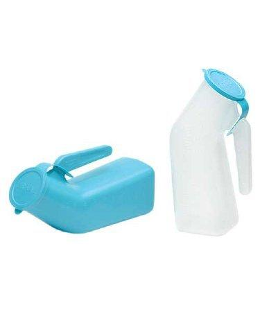 Male Urinal Medegen 1 Quart With Cover Single Patient Use 00095 Case/12