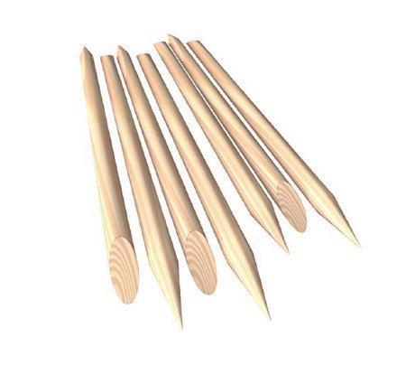 Manicure Stick 4.5 Inch Wood 4897 Box/144
