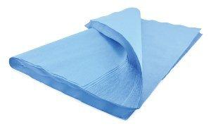 McKesson Sterilization Wrap Blue 20 X 20 Inch Single Layer Cellulose 487 Box/100