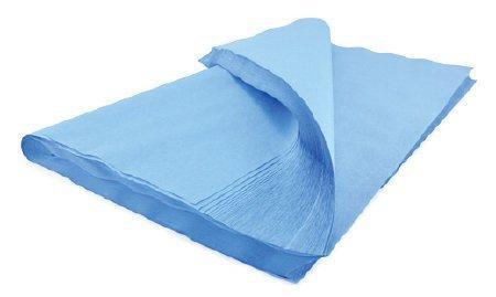 McKesson Sterilization Wrap Blue 30 X 30 Inch Single Layer Cellulose 489 Box/100