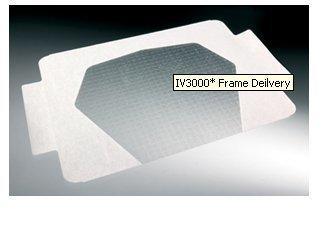 Moisture Responsive Catheter Dressing IV3000 Frame Delivery 4 X 4-3/4 Inch Film 59410882 Pack/50