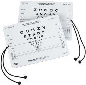 Near Vision Card Good-Lite 40 cm 729000 Each/1