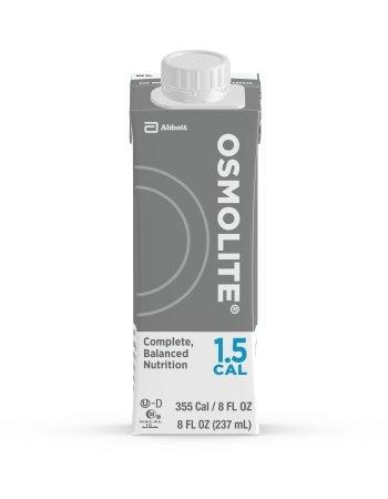 Oral Supplement Osmolite 1.5 Cal Unflavored 8 oz. Recloseable Tetra Carton Ready to Use 64837 Each/1
