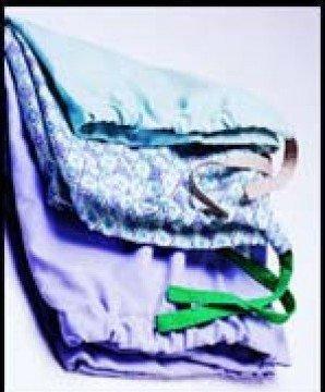 Pajama Pants Large Heather Blue Unisex 45621-407 Each/1