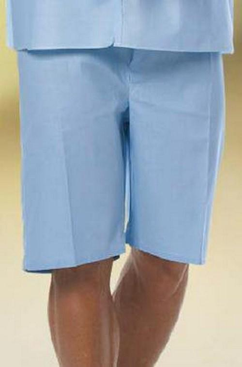 Pajama Shorts EZ Glide¨ 2 X-Large Light Blue Unisex 7837-2XL Each/1