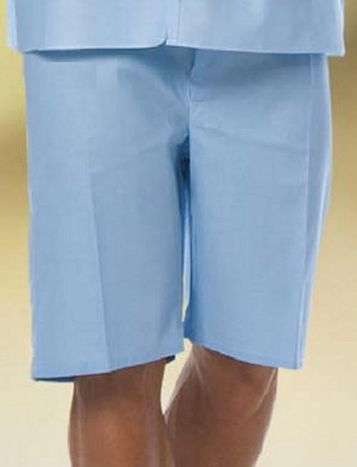 Pajama Shorts X-Large Light Blue Unisex 7837 XL Each/1