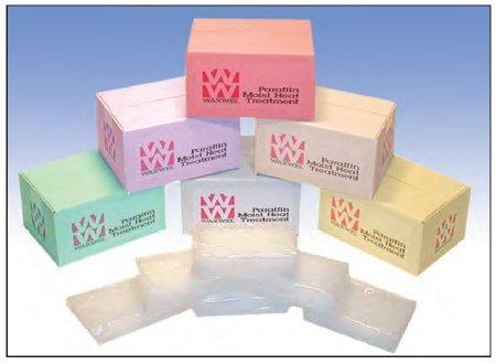 Paraffin Refill Block WaxWel Peach, 1 lbs X 6 Blocks 1117186 Box/6