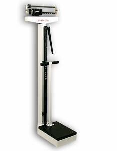 Physicians Scale Detecto Balance Beam 400 lbs. X 4 oz. White Mechanical 449 Each/1