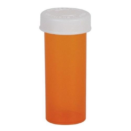 Prescription Vial Ezydose¨ Push & Turn 30 Dram Amber 30435 Case/125